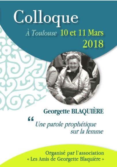 Résultats de recherche d'images pour «Colloque sur Georgette Blaquière»