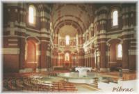 intérieur de la basilique Sainte Germaine de Pibrac (31 - Haute-Garonne)