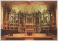le choeur de l'église Sainte Marie-Madeleine de Pibrac (31 - Haute-Garonne)