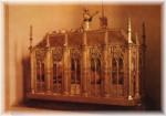 La châsse contenant les reliques de Sainte Germaine de Pibrac (1579-1601)