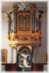 le buffet de l'orgue de Pibrac (31 - Haute-Garonne)