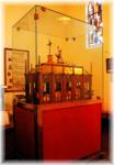 la châsse où sont conservées les reliques de sainte Germaine de Pibrac (31)