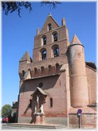 clocher de l'église de Pibrac (31 - Haute-Garonne)
